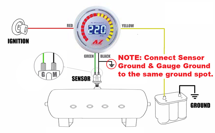 ga az 220 manuals & schematics hornblasters Single Phase Compressor Wiring Diagram at edmiracle.co