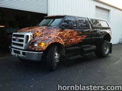 Enhanced Customs's 2009 Ford F650 Heavy Duty