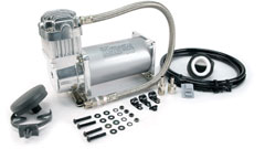 350C Silver Air Compressor Photo