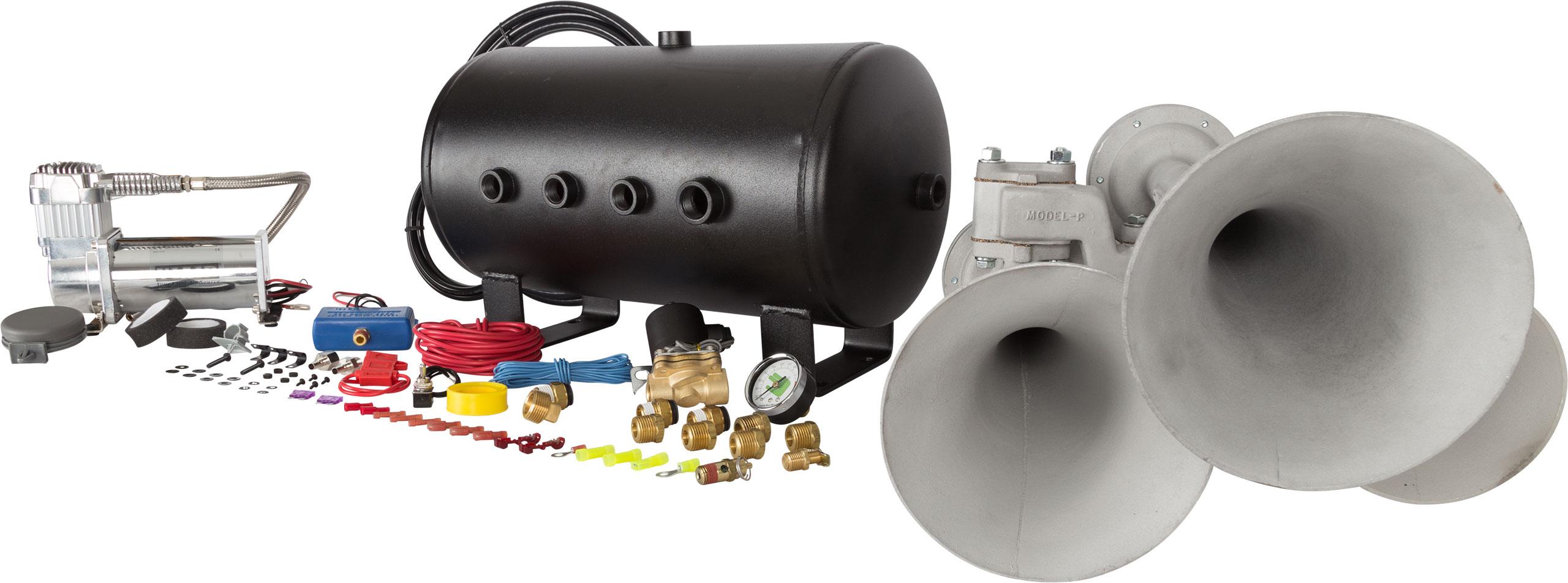 Hornblasters airchime p3 540 train horn kit airchime p3 540 train horn kit photo publicscrutiny Choice Image